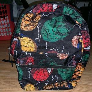 Marvel character back pack